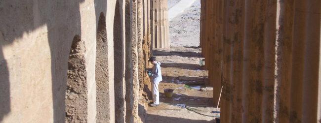 Colonnato nel Tempio Concordia di Agrigento