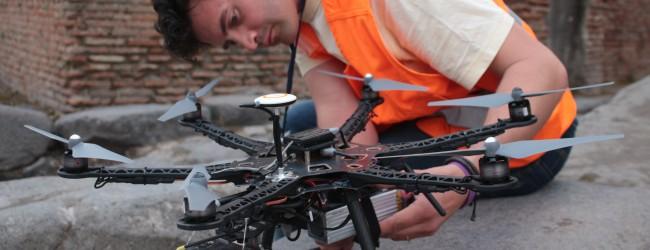 Rilievo con drone a Pompei, Piano della conoscenza 01
